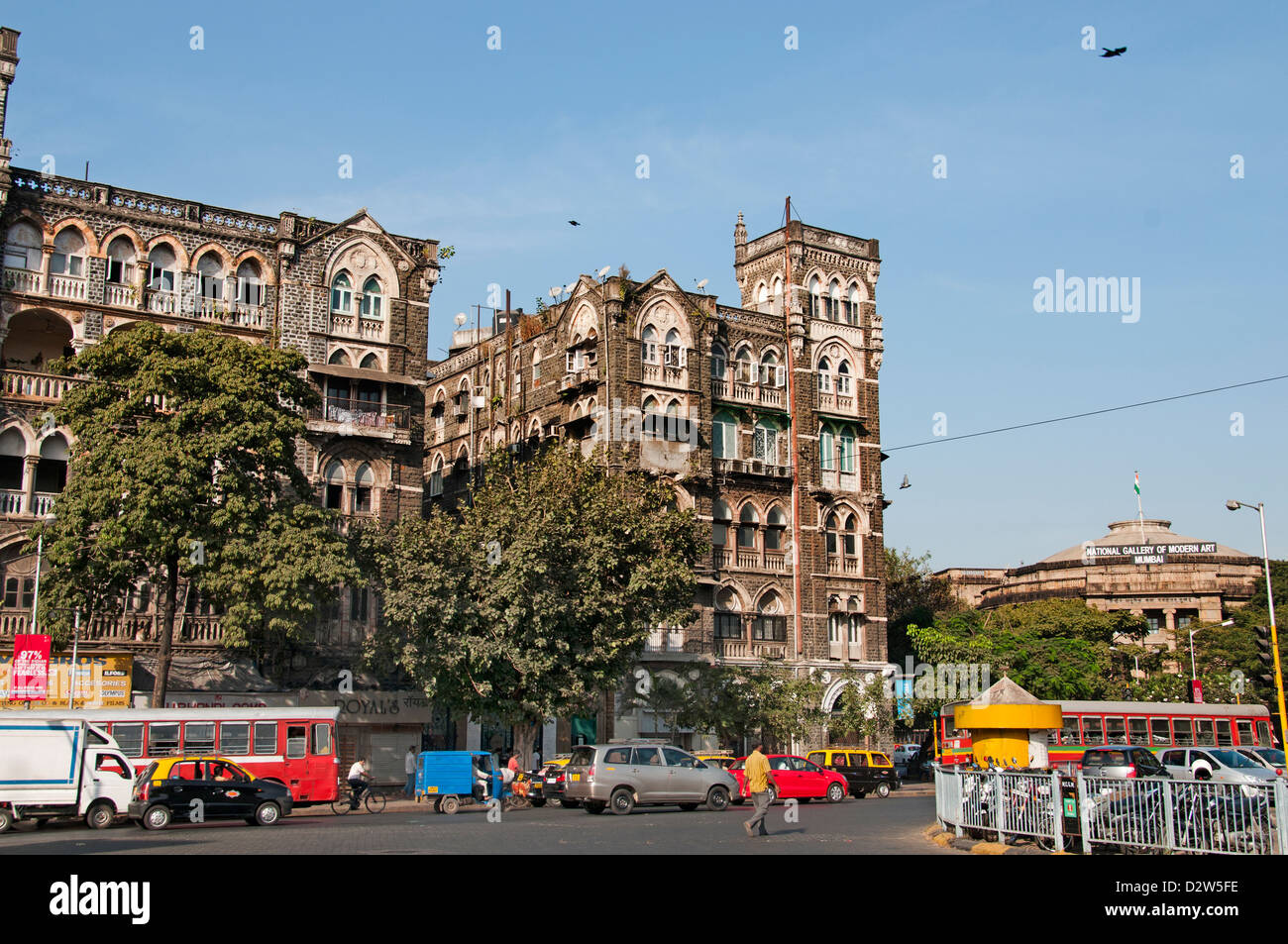Mumbai Colaba Causeway ( Bombay ) India - Stock Image