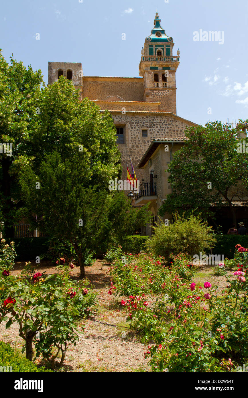 The Royal Carthusian Monastery (Real Cartuja), Valldemossa, Majorca, Spain. - Stock Image