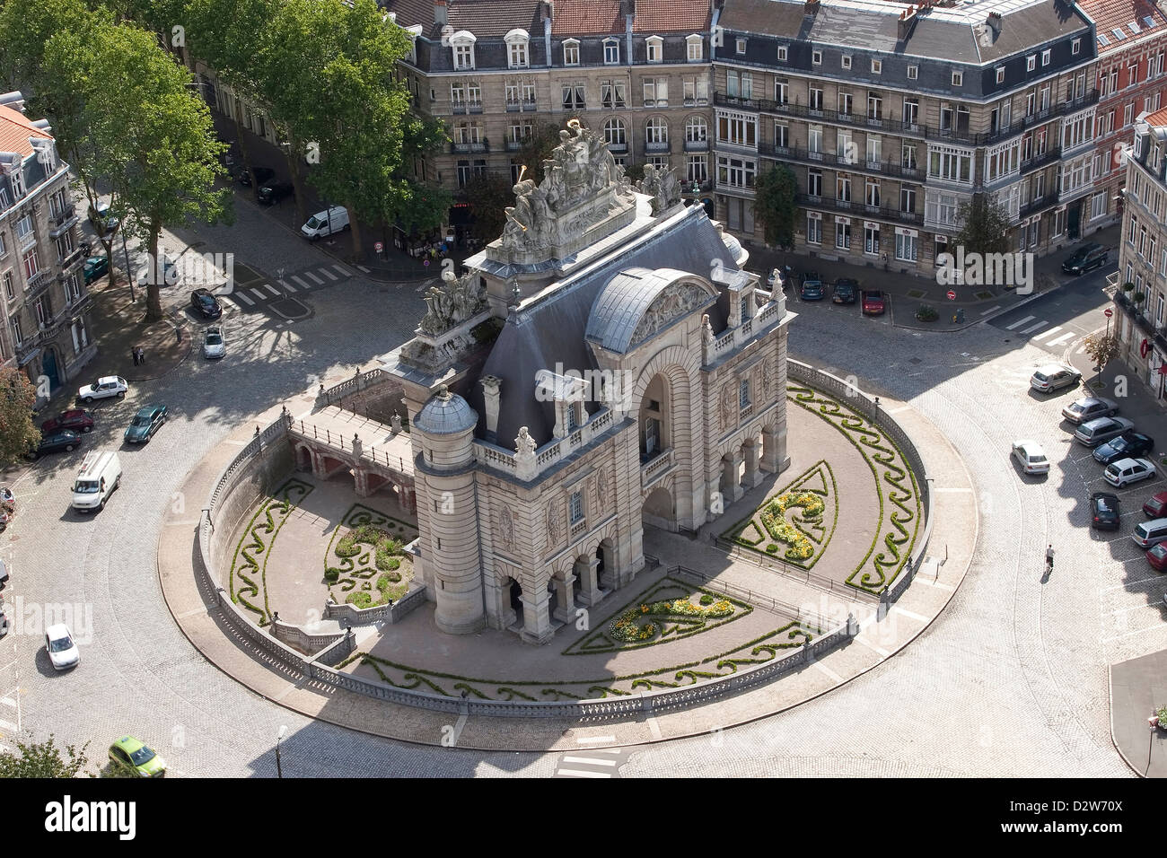 Porte De Paris Door Of Paris Lille France Stock Photo Alamy