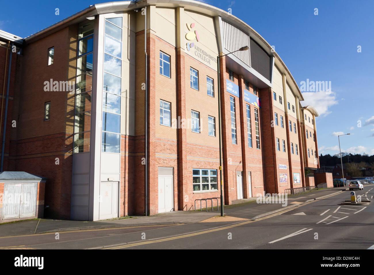 Kidderminster college - Stock Image