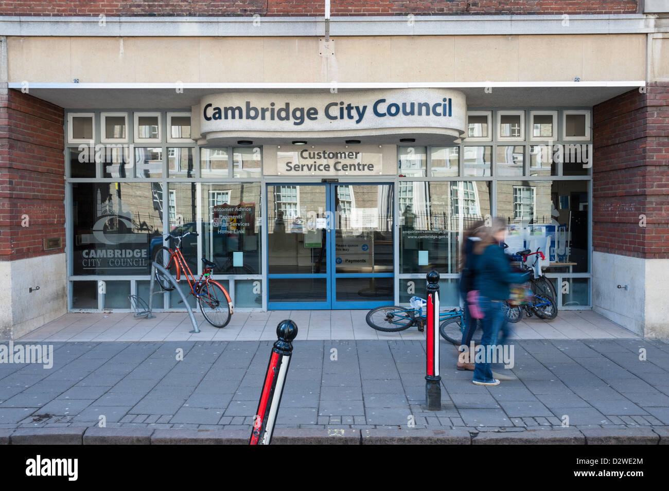 Cambridge City Council offices and Customer service centre Regent Street Cambridge UK Stock Photo