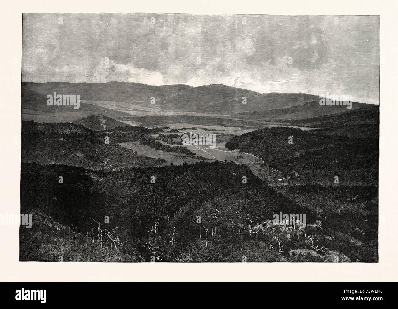 MIDDLESBOROUGH KENTUCKY IN 1889 USA - Stock Image