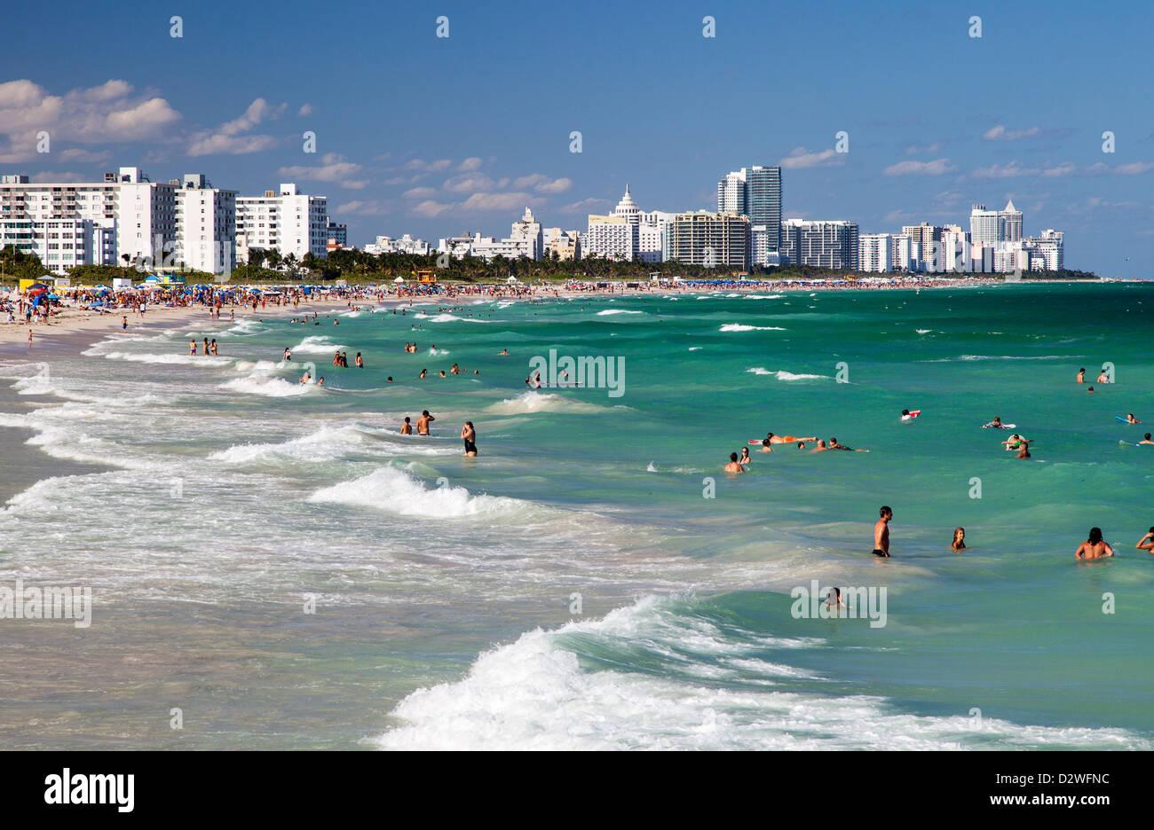 Miami Beach, USA - Stock Image