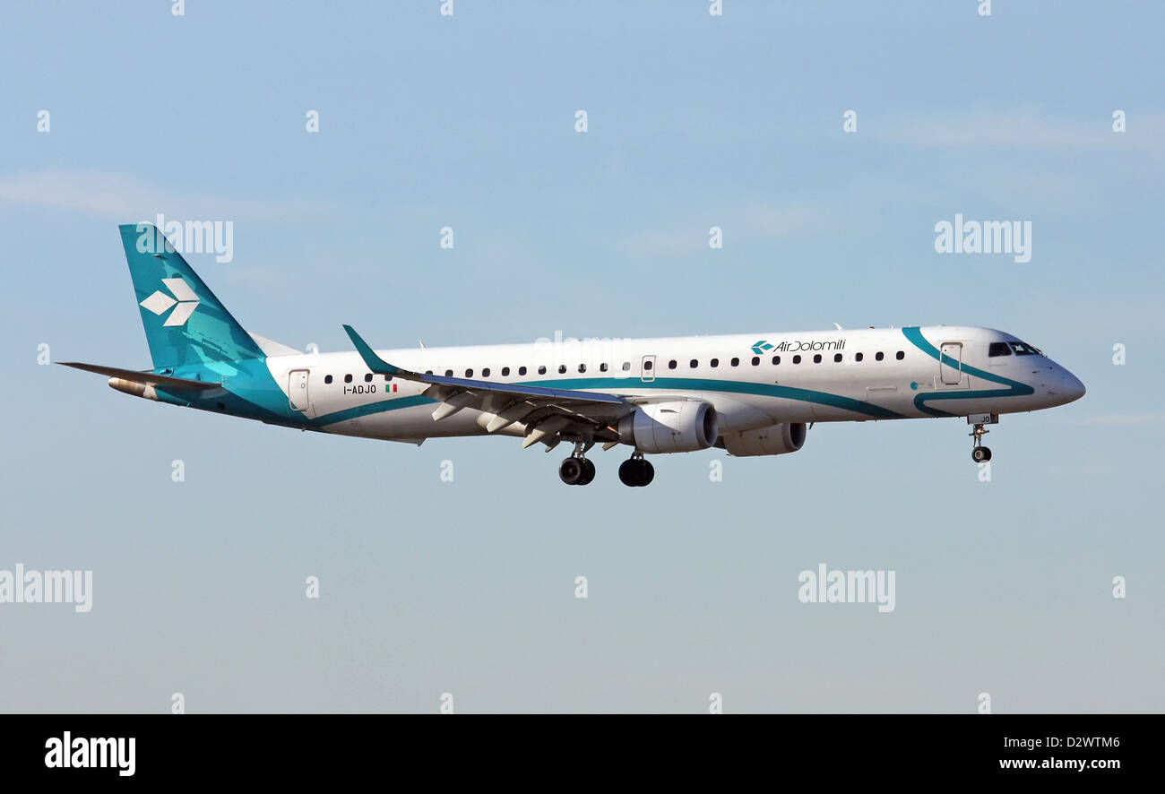 Air Dolomiti, Embraer 190 - Stock Image
