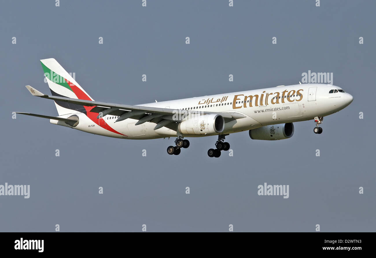 Emirates Airlines, Airbus A330-243 - Stock Image