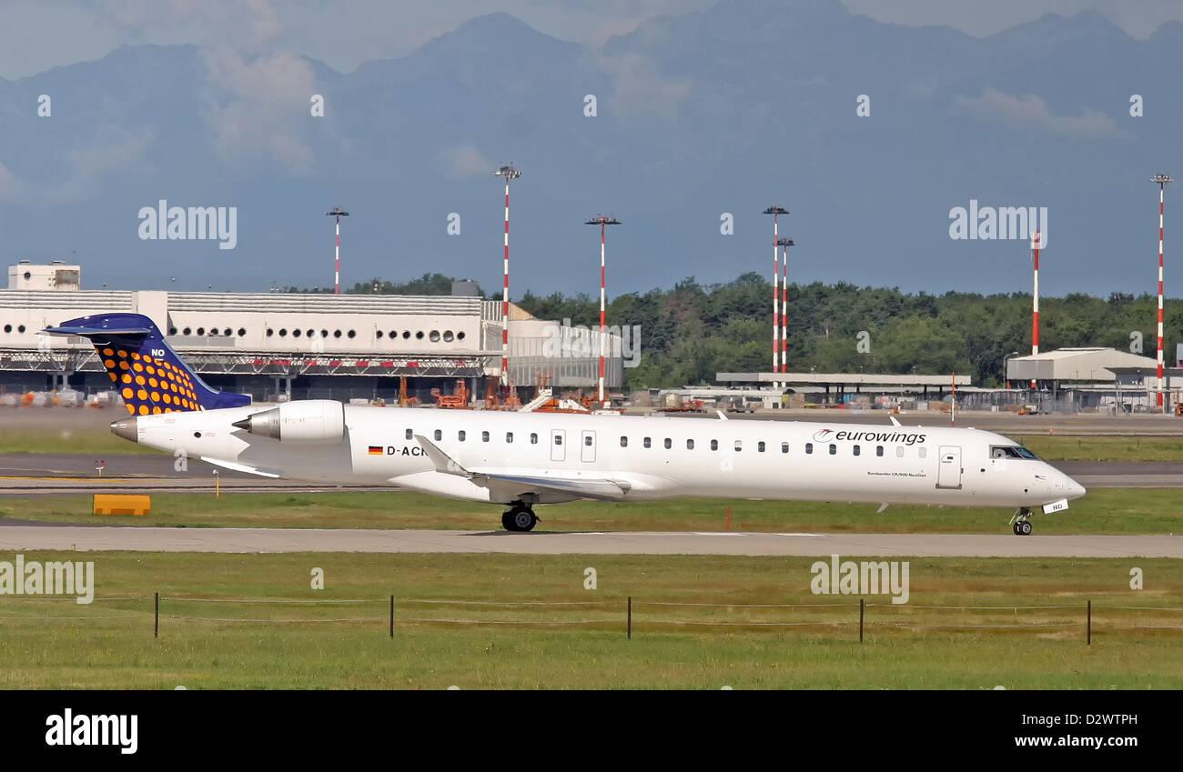 Eurowings, Canadair CRJ-900 - Stock Image