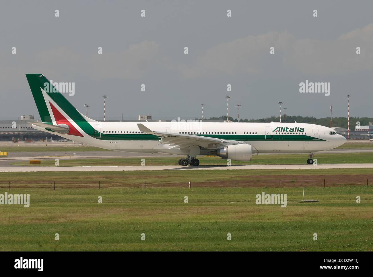 Alitalia, Airbus A330-200 - Stock Image