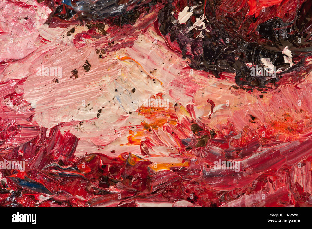 Swirl Thick Oil Paint Stock Photos Swirl Thick Oil Paint Stock
