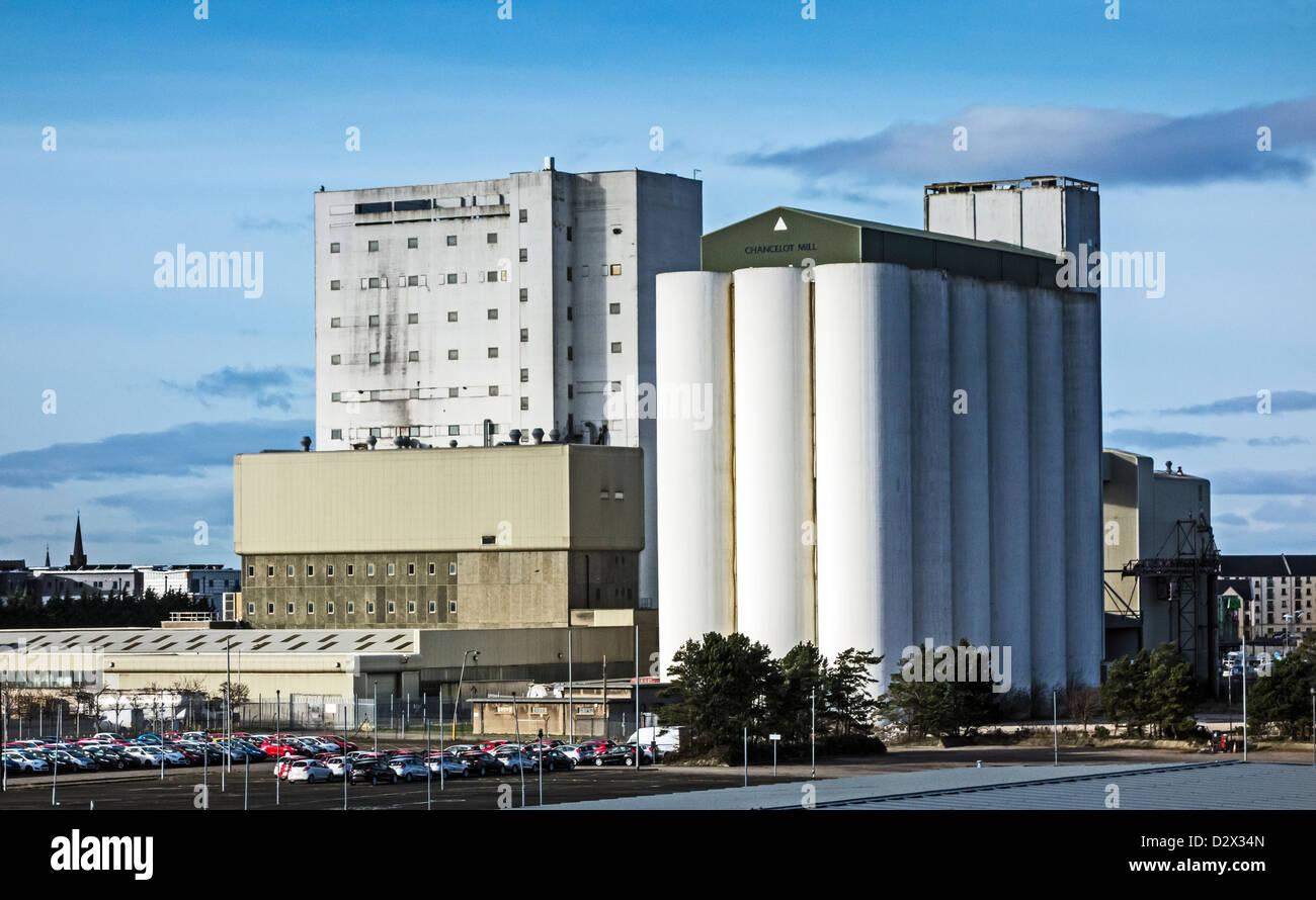 ADM Milling Chancelot Mill in Leith Docks Edinburgh Scotland Stock Photo