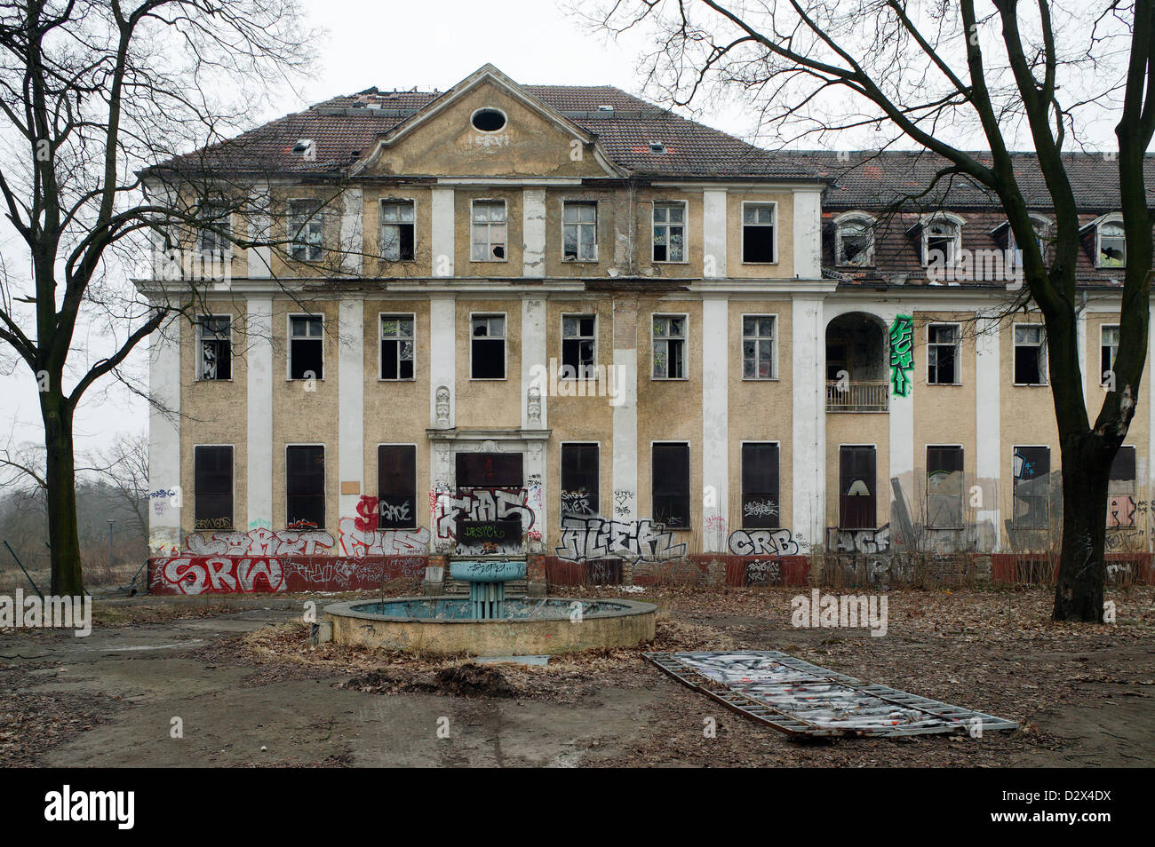 Berlin, Germany, Germany, headquarters of the former KGB - Stock Image