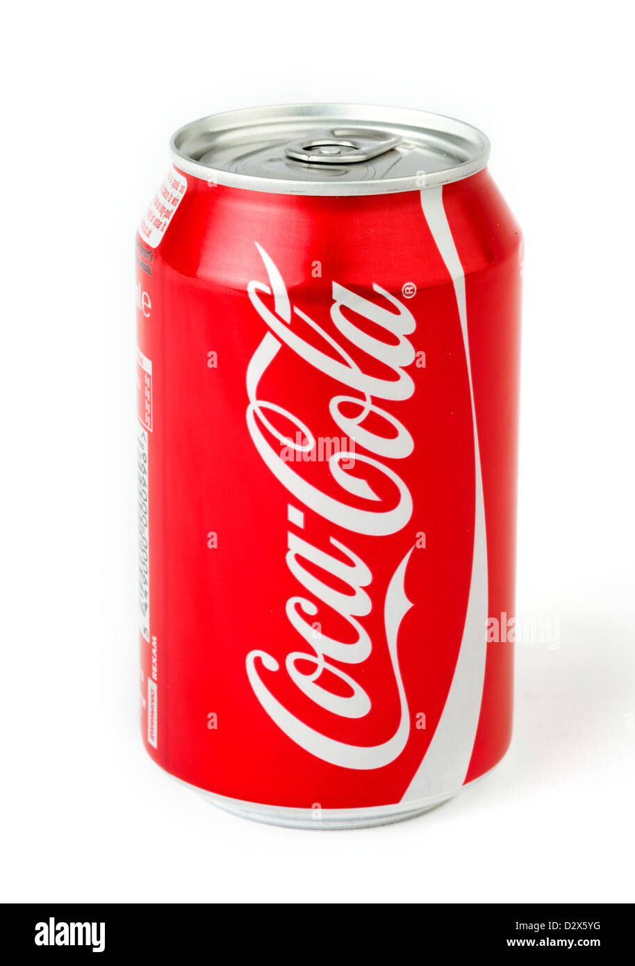 Can of Coca Cola - Stock Image