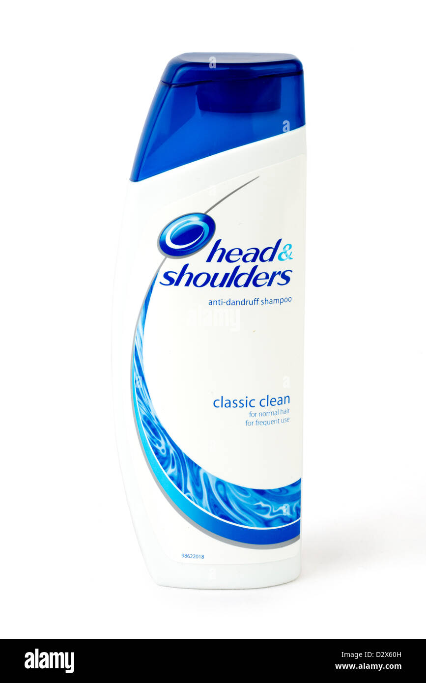 Head and Shoulders anti-dandruff shampoo - Stock Image