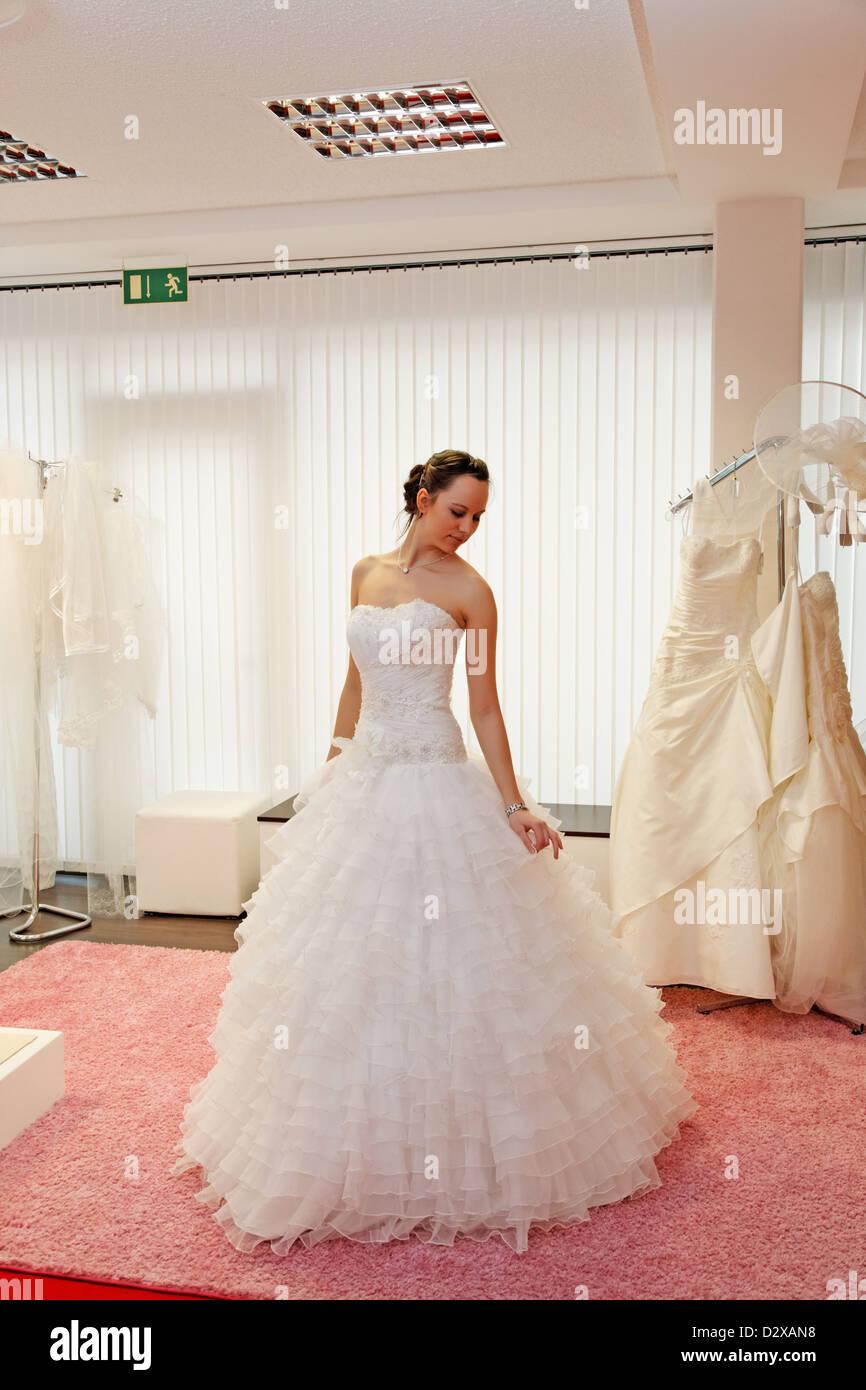 Wedding Dress Shop Stock Photos & Wedding Dress Shop Stock Images ...