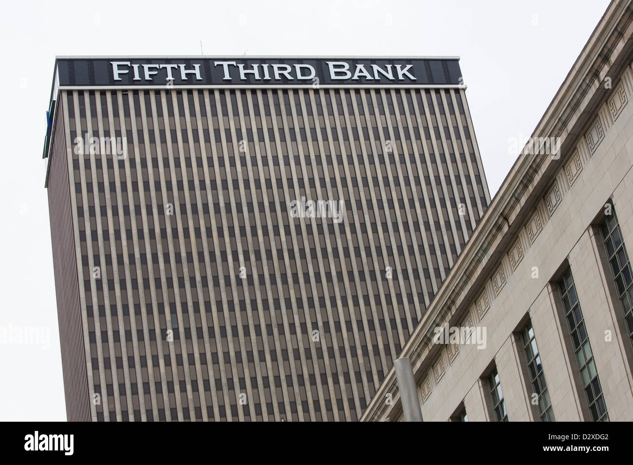 The headquarters of Fifth Third Bank.  - Stock Image