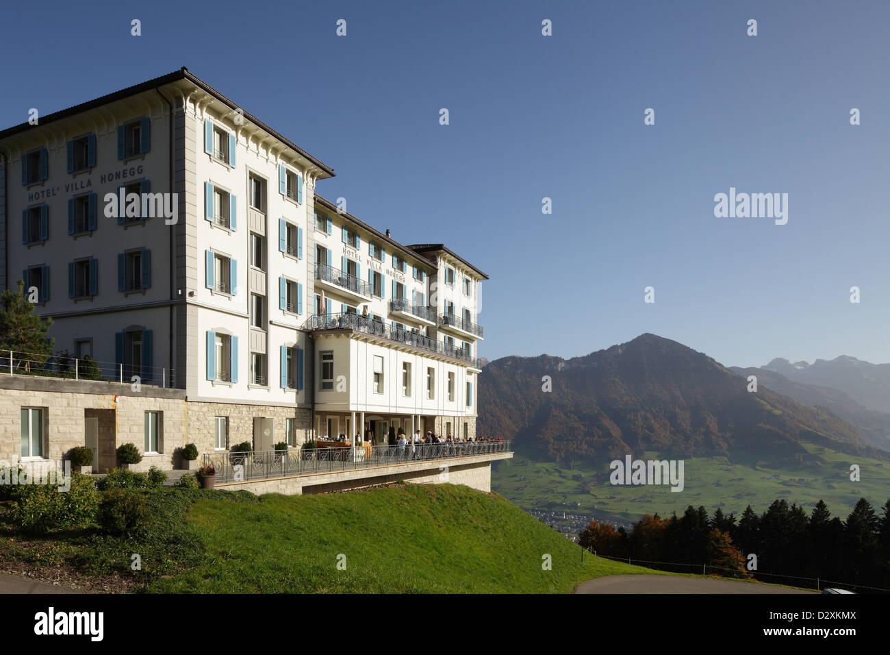 Hotel Villa Honegg dedans lucerne, switzerland, hotel villa honegg in buergenstock near