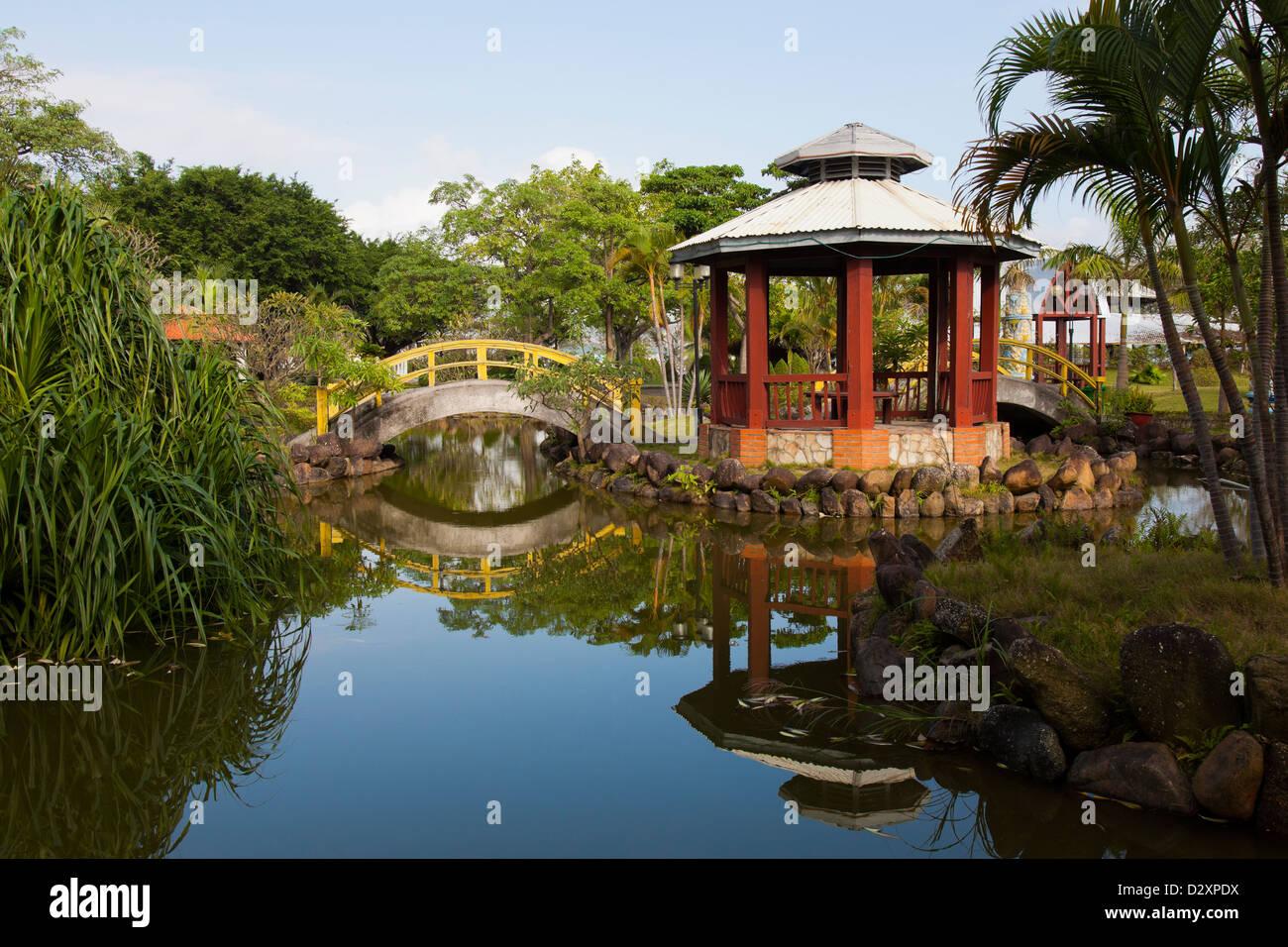 Japanese Garden in Ha Long, Quảng Ninh Province, Vietnam - Stock Image