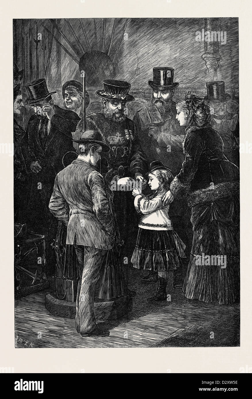 HOLIDAY SIGHTS: THE TORTURE IN HER MAJESTY'S TOWER LONDON 1871 - Stock Image