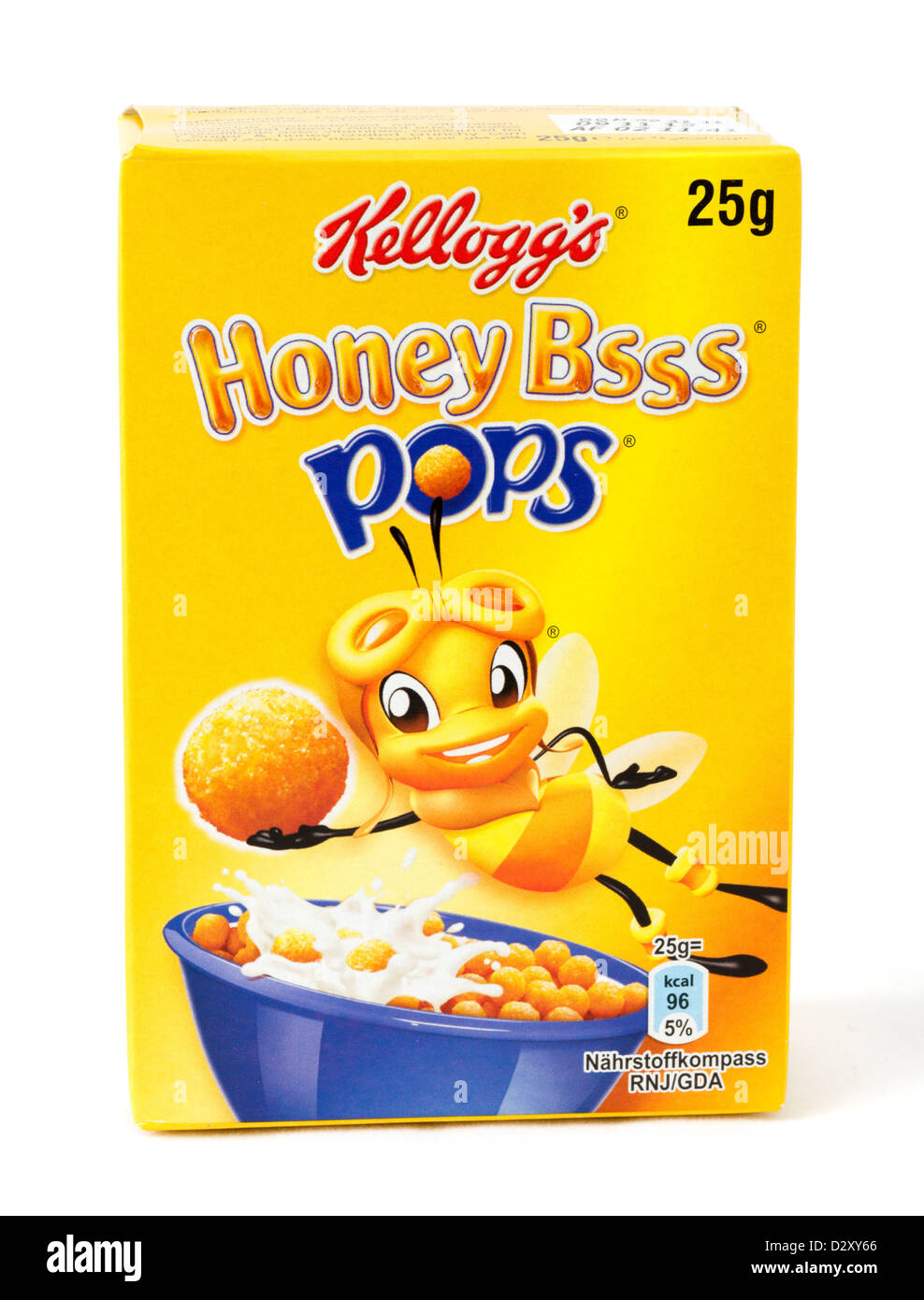 Small pack of Kellogg's Honey Bsss breakfast cereal - Stock Image