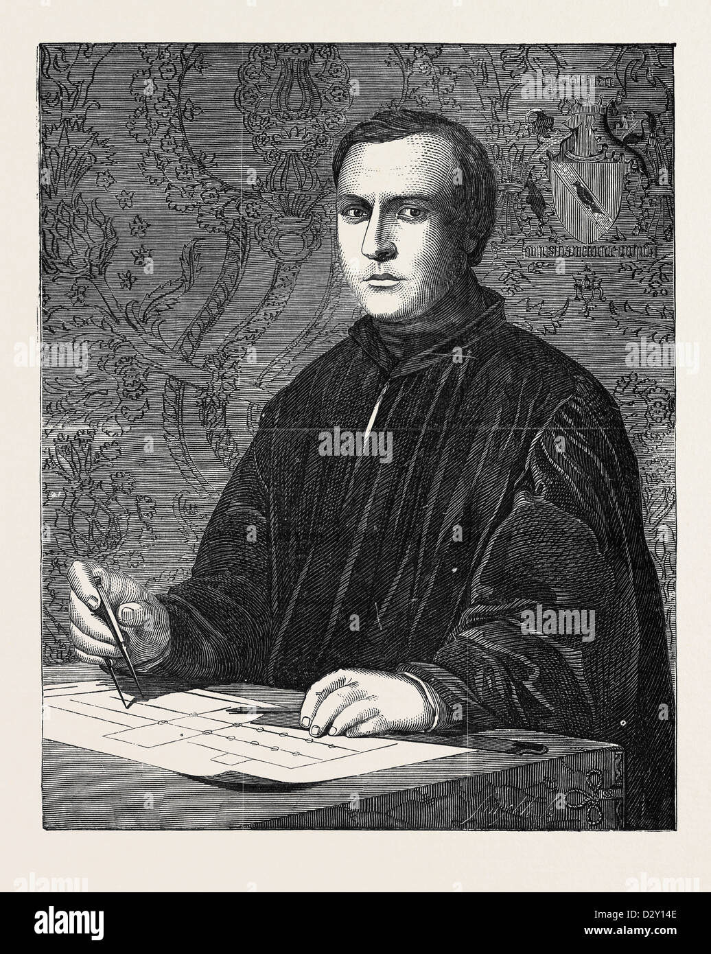 THE LATE A. WELBY PUGIN, ARCHITECT - Stock Image