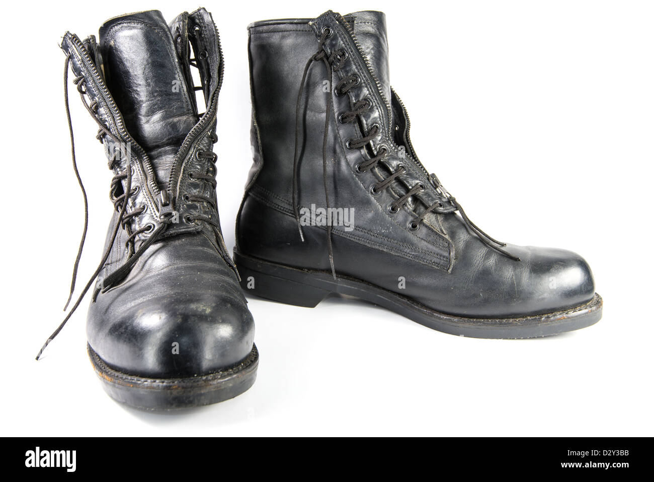 Standard issue all weather military flight boots from the United States Air  Force bd0769e3faab