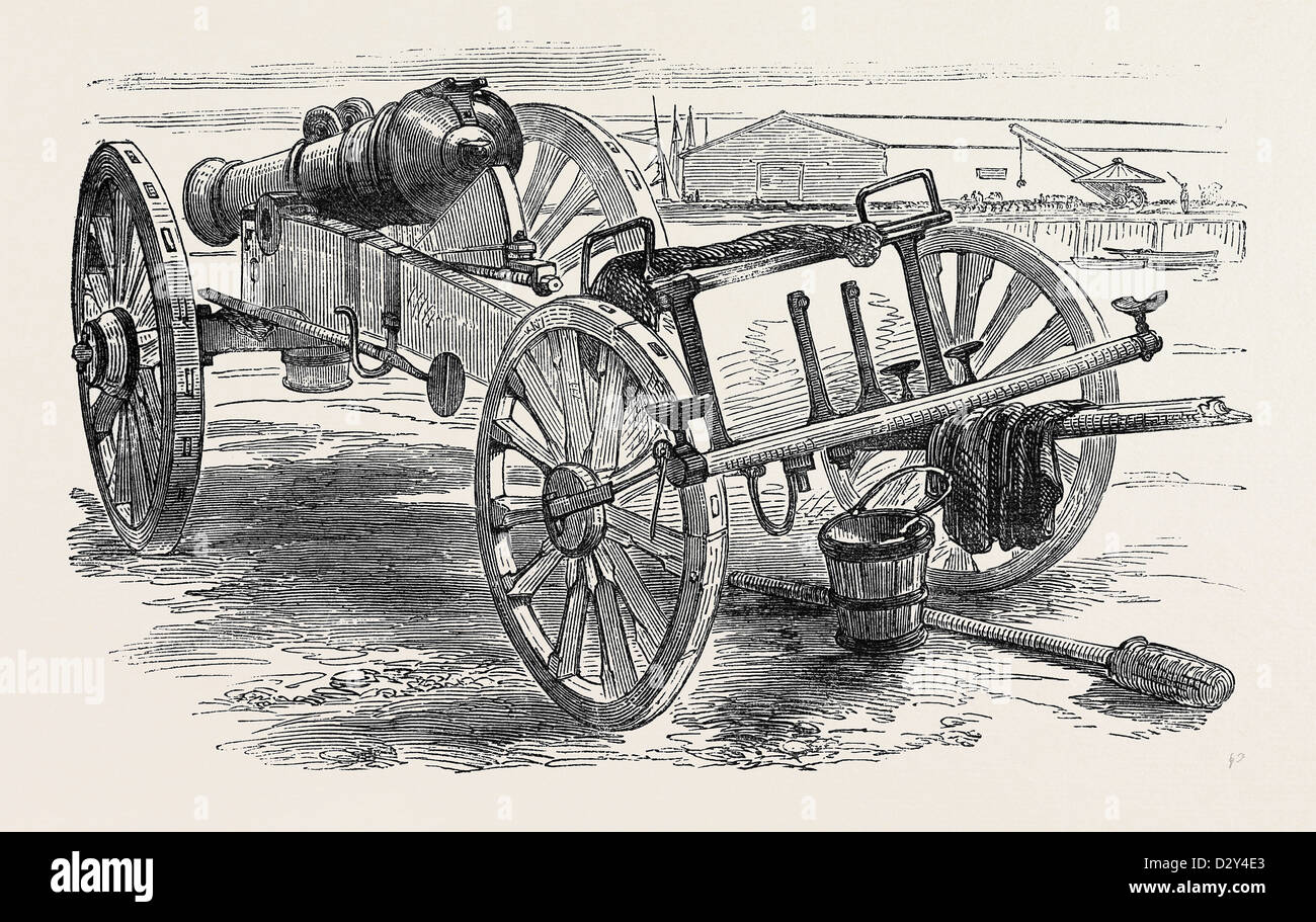 RUSSIAN FIELD GUN CAPTURED AT THE BATTLE OF THE ALMA - Stock Image