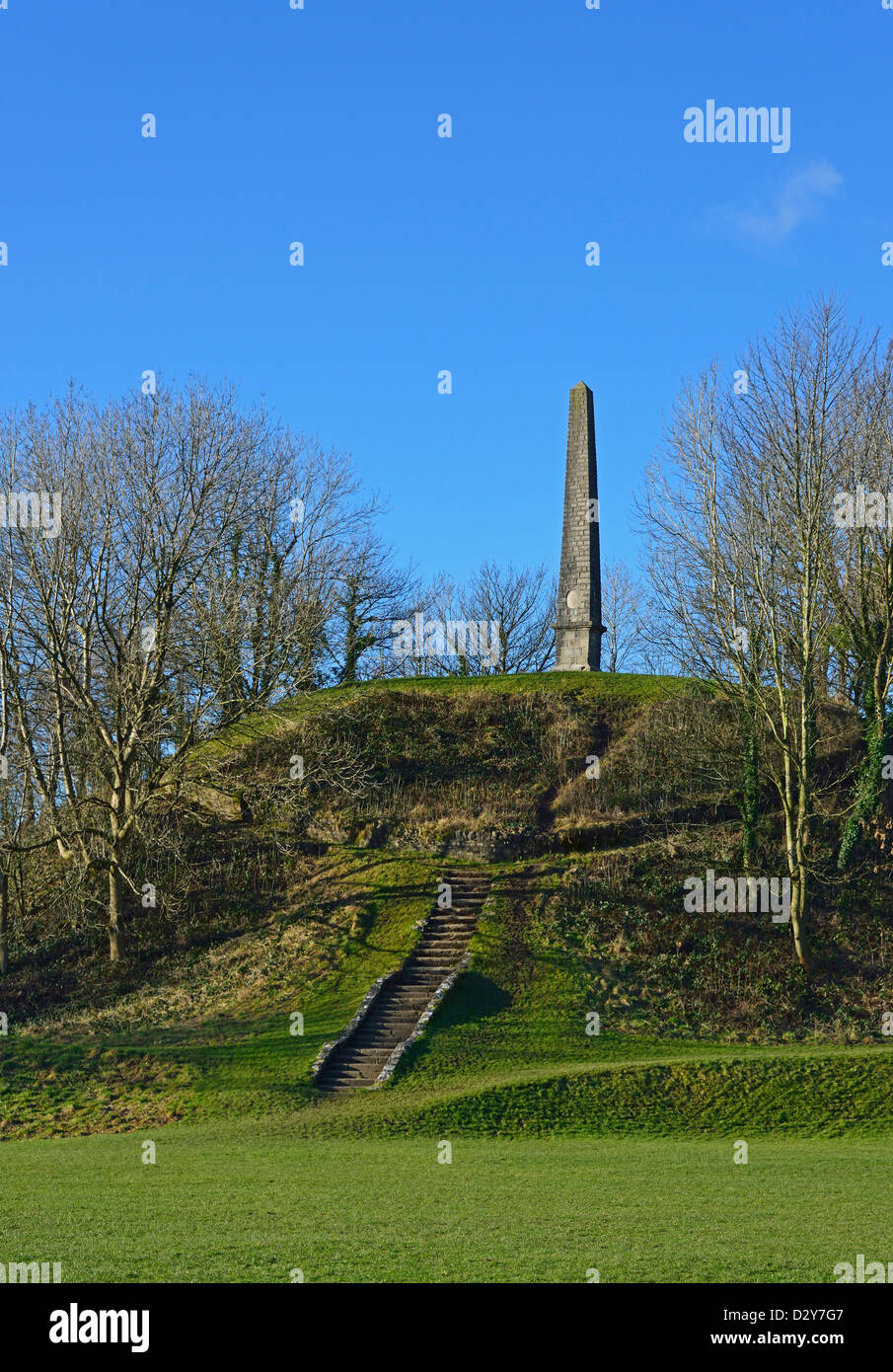 The Monument, Castle Howe, Bowling Fell, Kendal, Cumbria, England, United Kingdom, Europe. - Stock Image