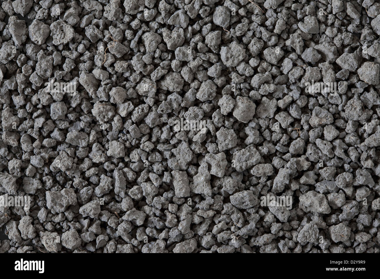 Clay Loam Soil Sample, (Sand 26, Silt 44, Clay 30) - Stock Image