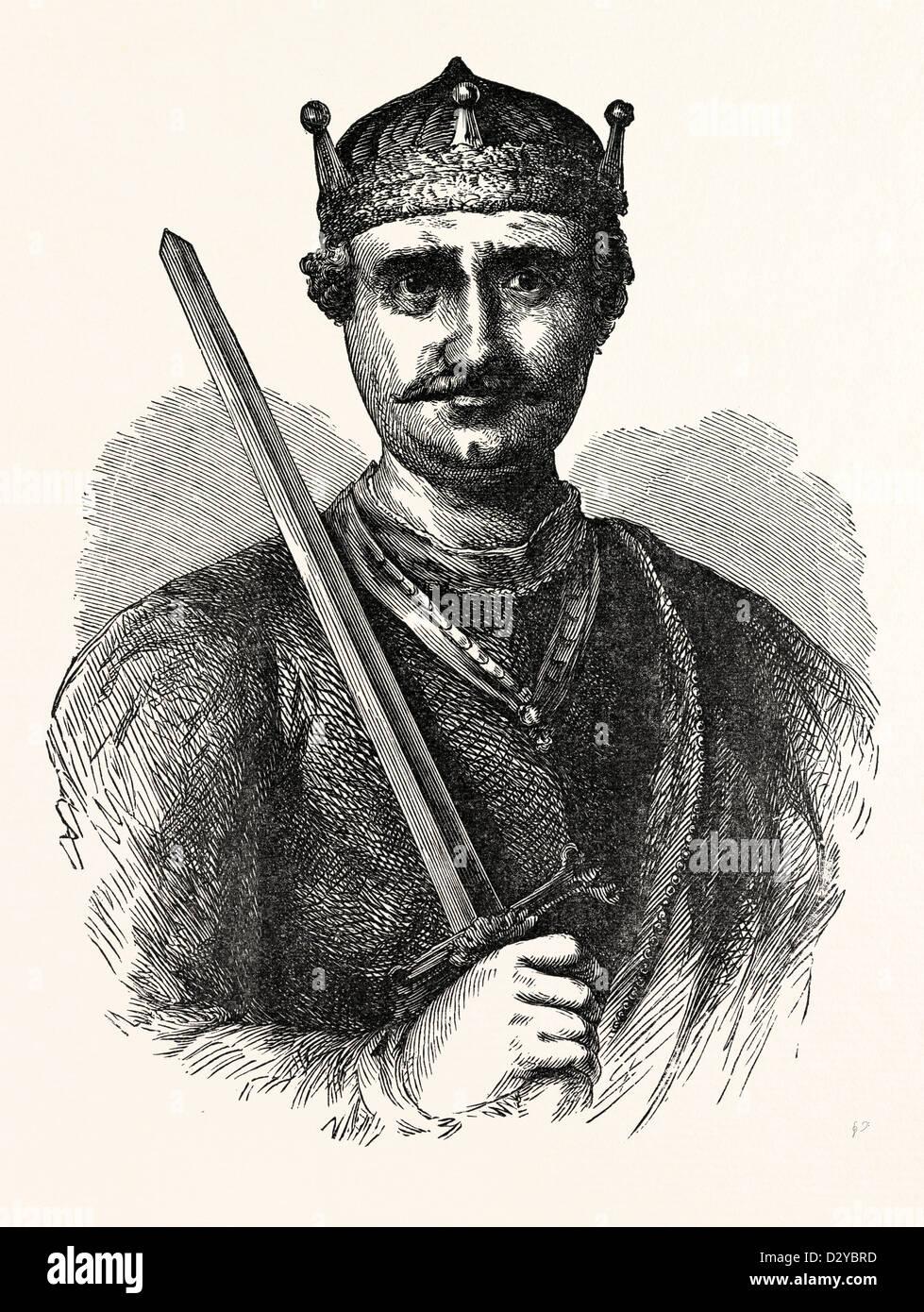WILLIAM I. SURNAMED THE CONQUEROR - Stock Image