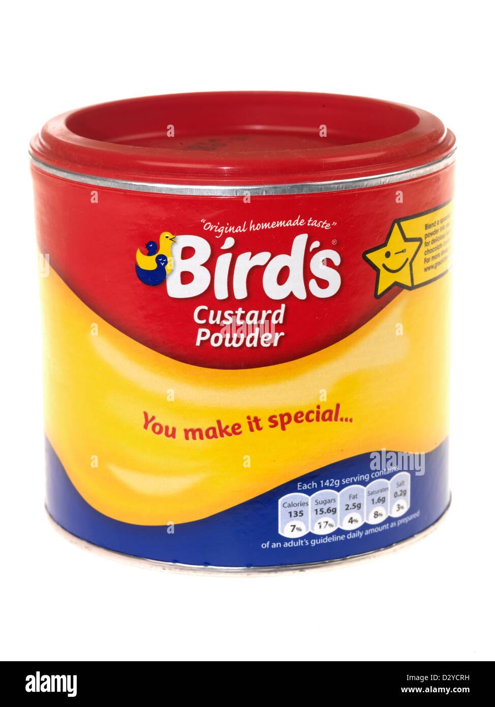 Custard Powder - Stock Image