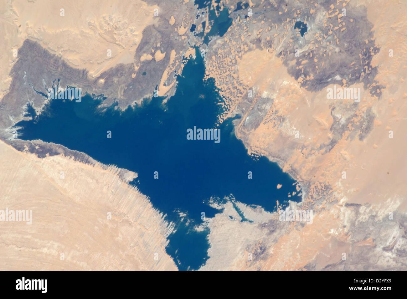 Egypt, Western Toshka Lakes and dunes Egypt - Stock Image