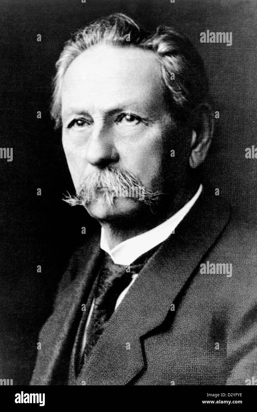 Karl Friedrich Benz German engine designer and founder of the automobile manufacturer Mercedes-Benz. - Stock Image