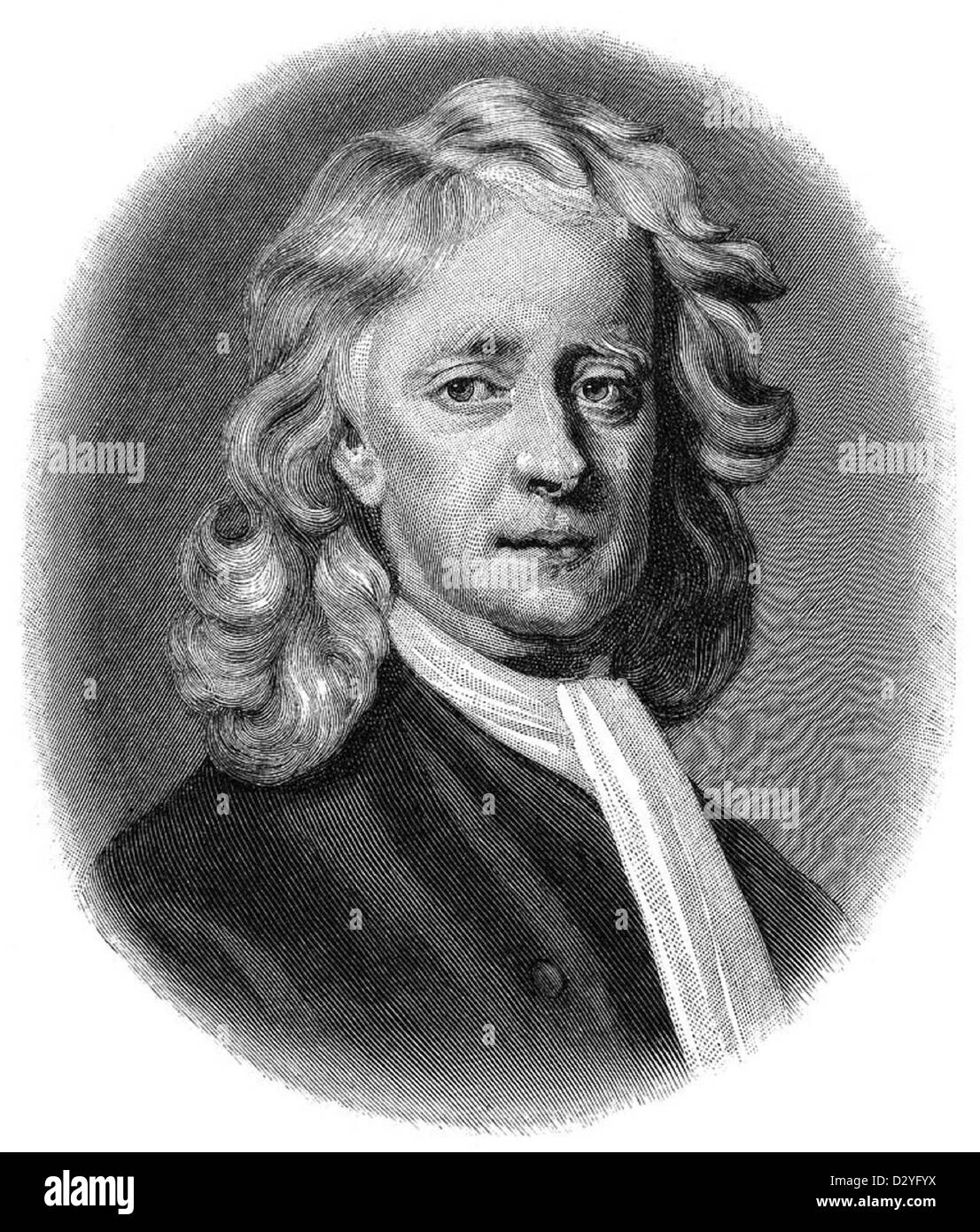 Sir Isaac Newton - Stock Image
