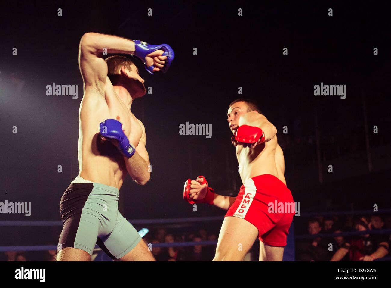 Ukrainian championship MIX FIGHT - Stock Image