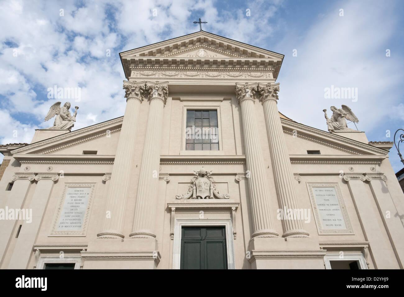 San Rocco church, Rome Stock Photo