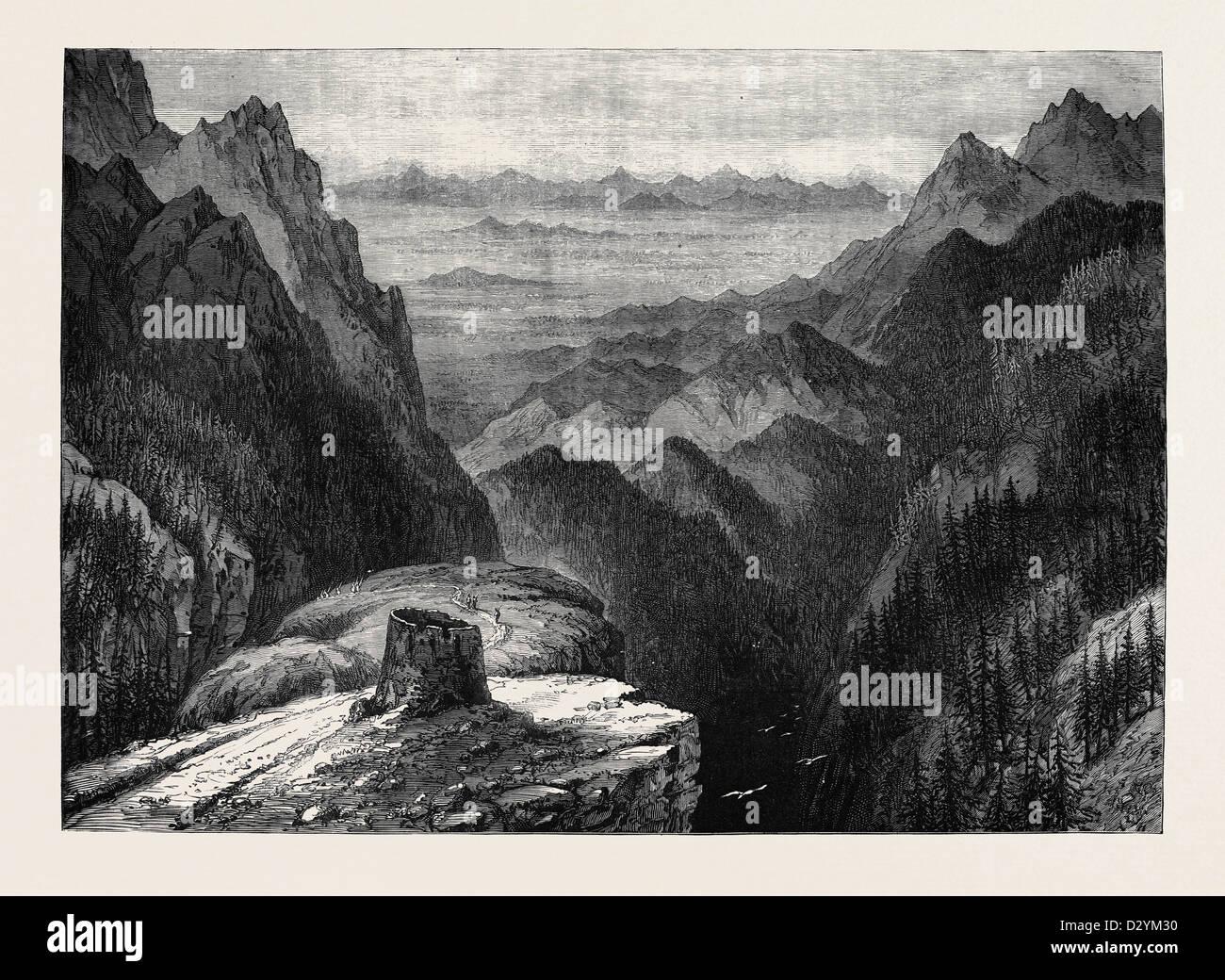THE AFGHAN WAR: THE SHATURGARDAN 1879 - Stock Image