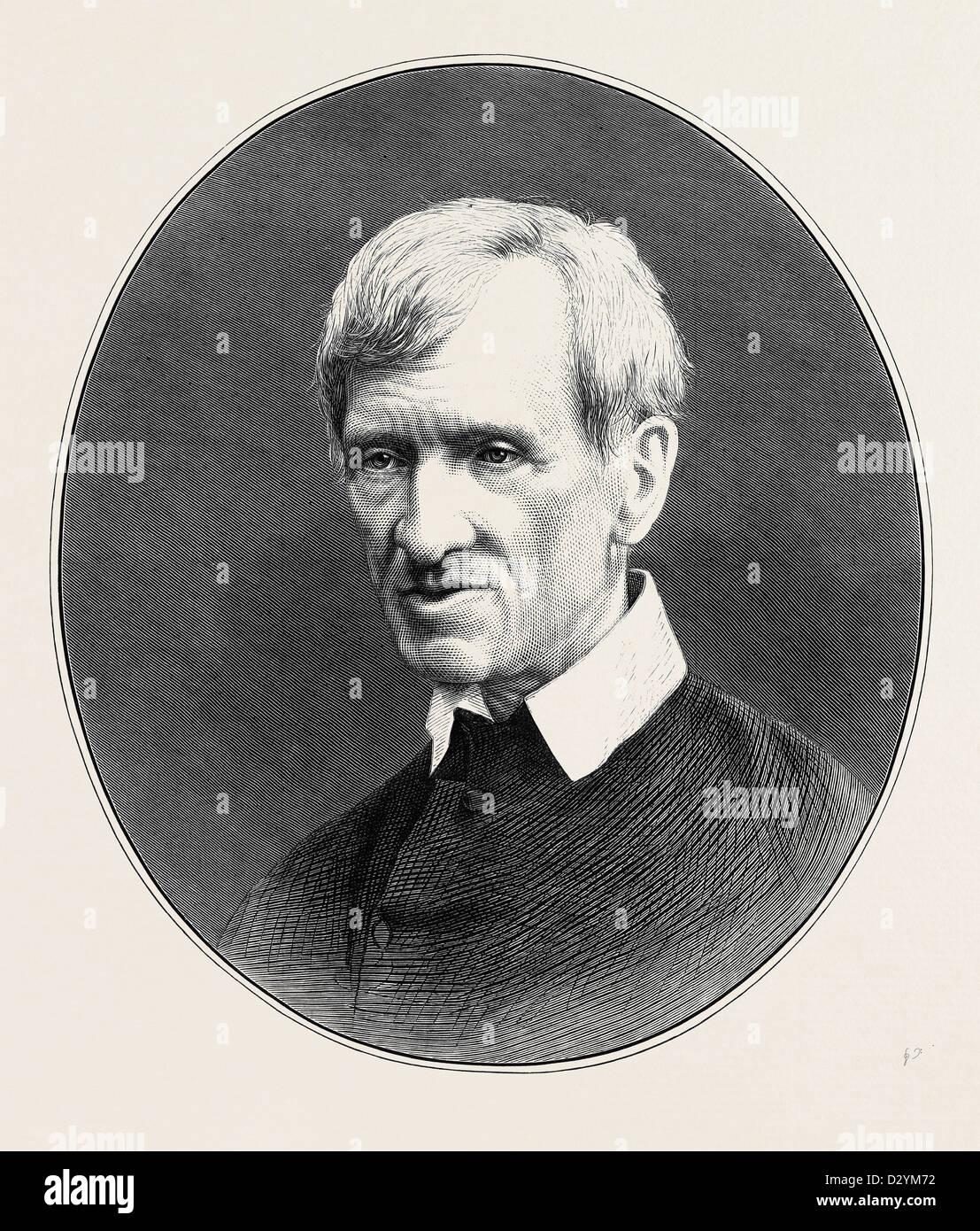 CARDINAL NEWMAN 1879 - Stock Image