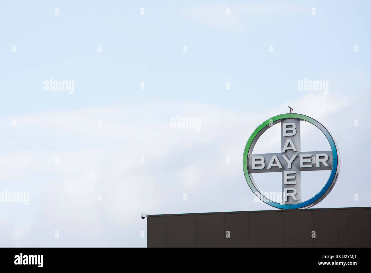 The Headquarters Of Pharmaceuticals Company Bayer Usa The American