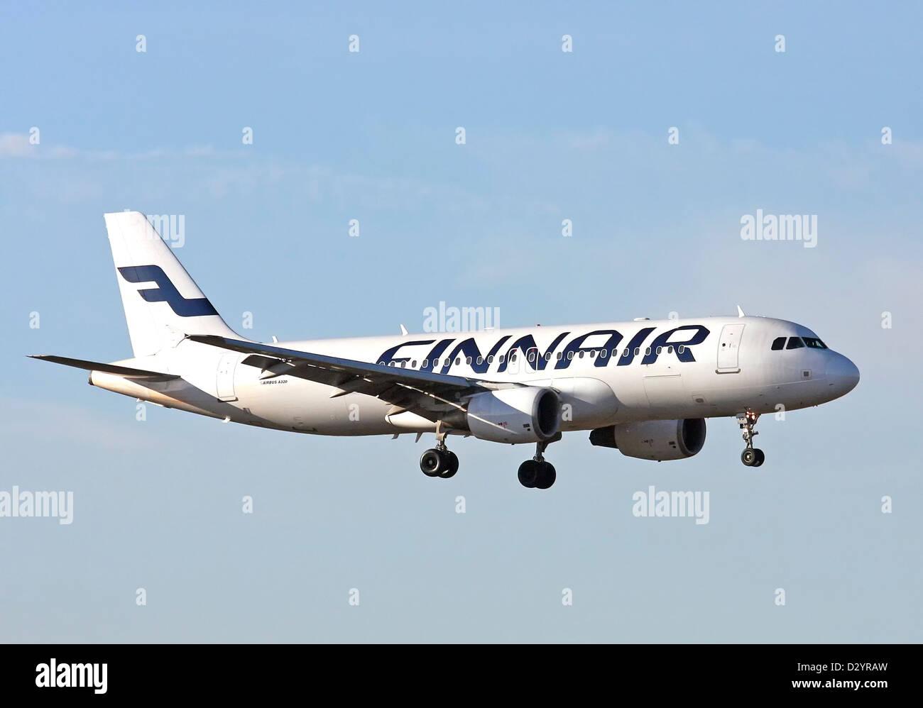 Finnair, Airbus A320-214 - Stock Image