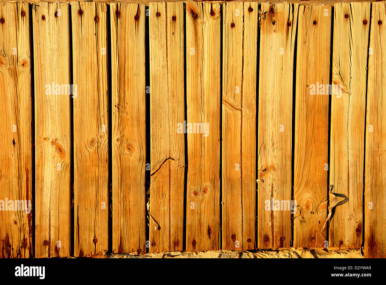 the brown wood texture with natural patterns - Stock Image