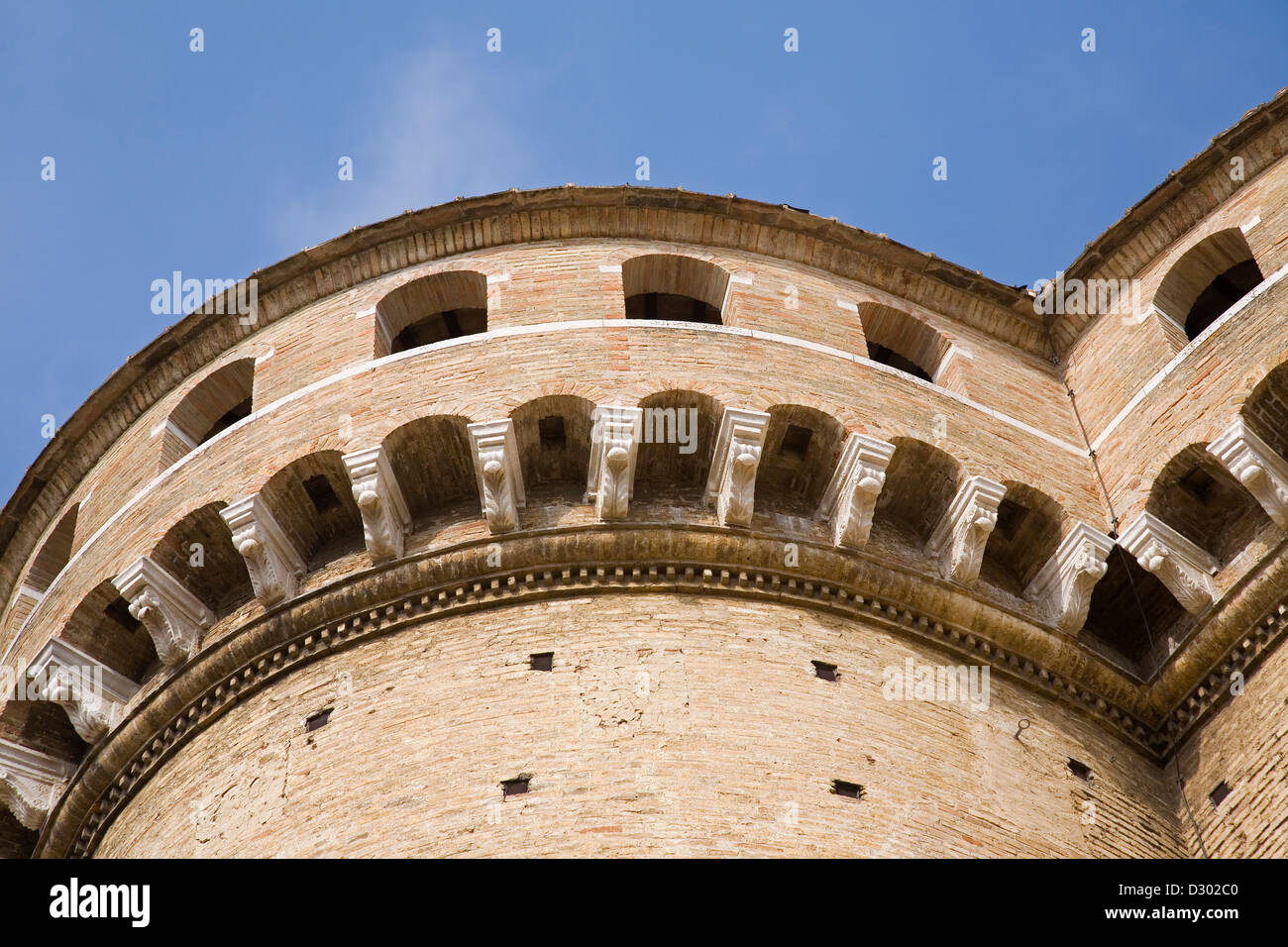 europe, italy, marche, loreto, sanctuary of the holy house, detail - Stock Image