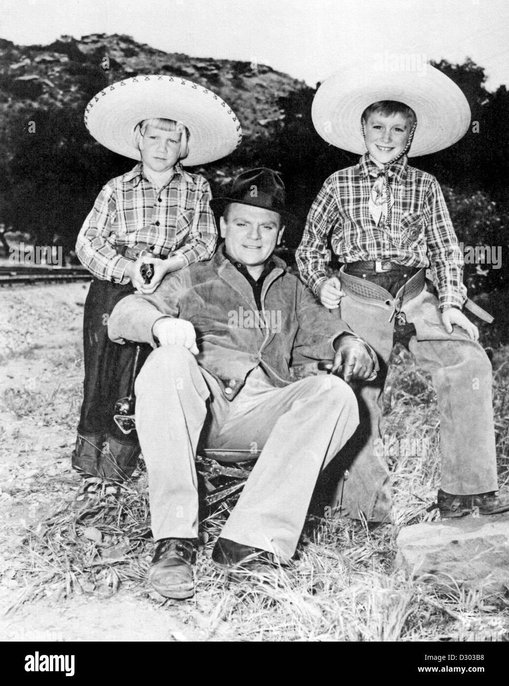Casey, James et James Cagney Jr - Stock Image