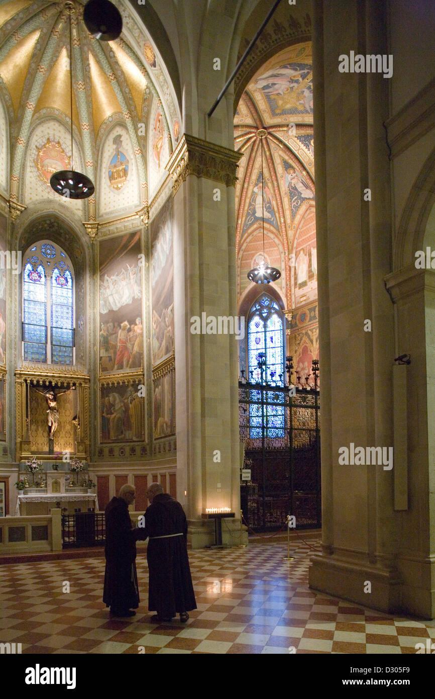 europe, italy, marche, loreto, sanctuary of the holy house - Stock Image