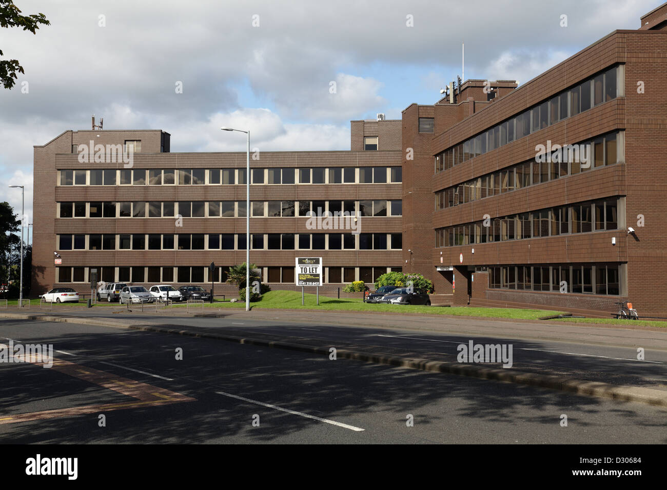Trident House business premises in Renfrewshire, Scotland, UK - Stock Image