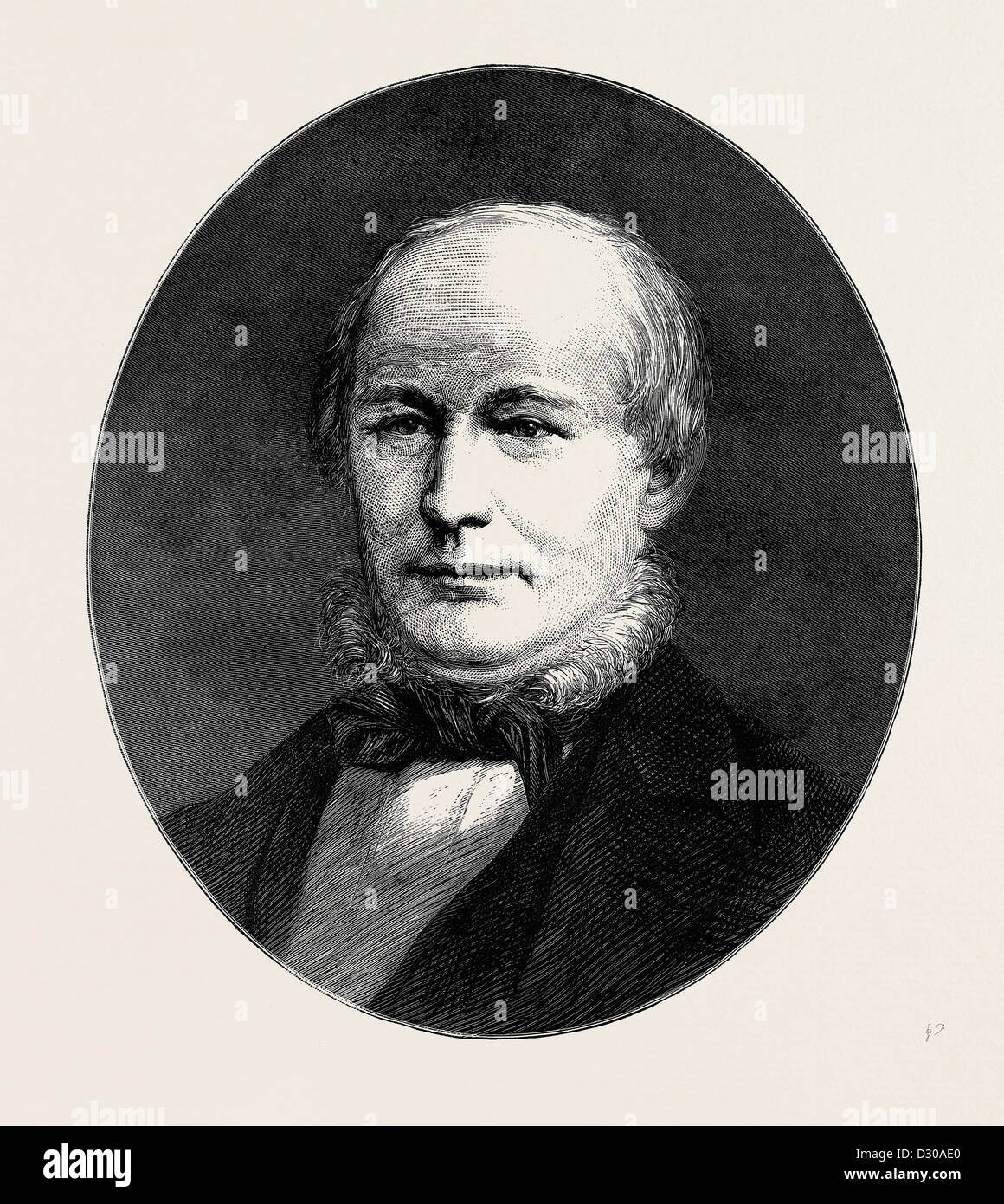 HORACE GREELEY - Stock Image