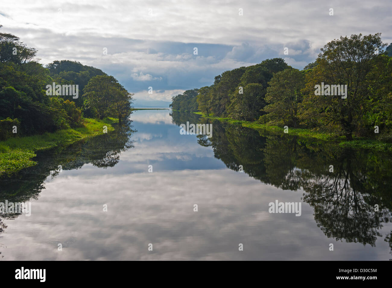 Lago de Yojoa, Lake Yojoa, Honduras, Central America Stock Photo