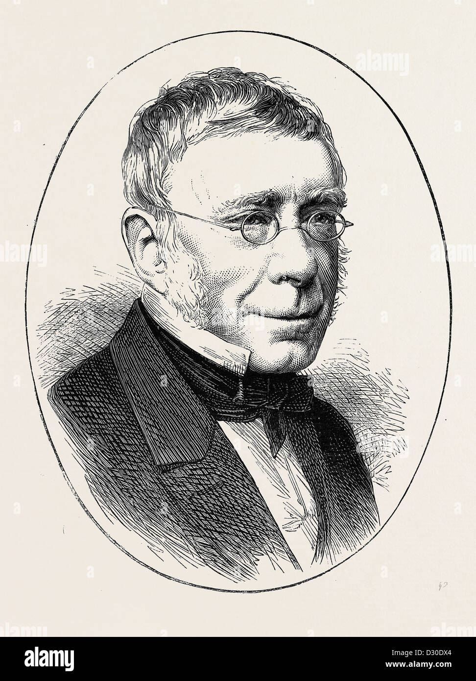 SIR GEORGE BIDDELL AIRY, THE ASTRONOMER ROYAL - Stock Image
