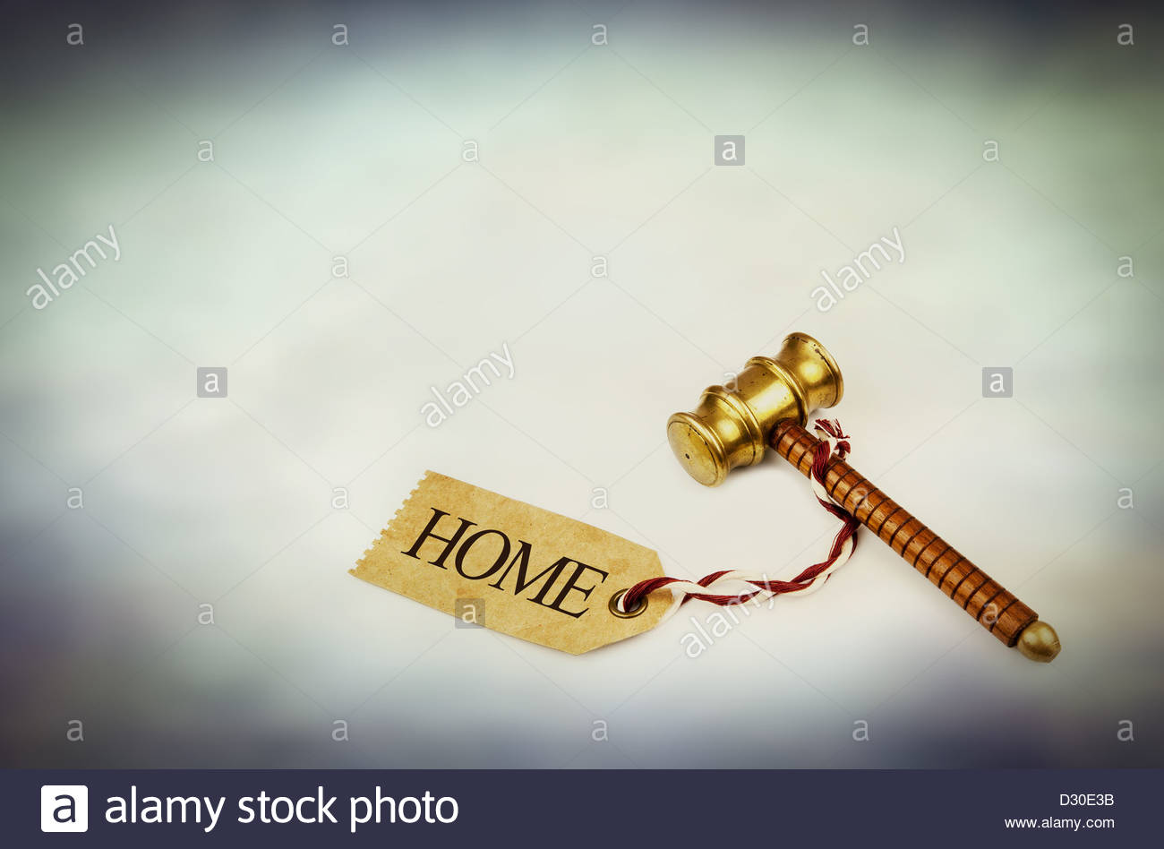 property auction - Stock Image