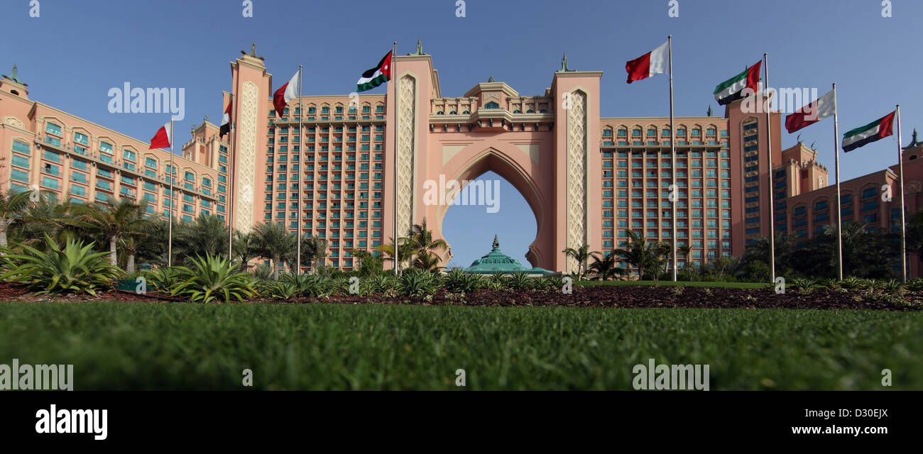 Dubai, United Arab Emirates, Hotel Atlantis - Stock Image