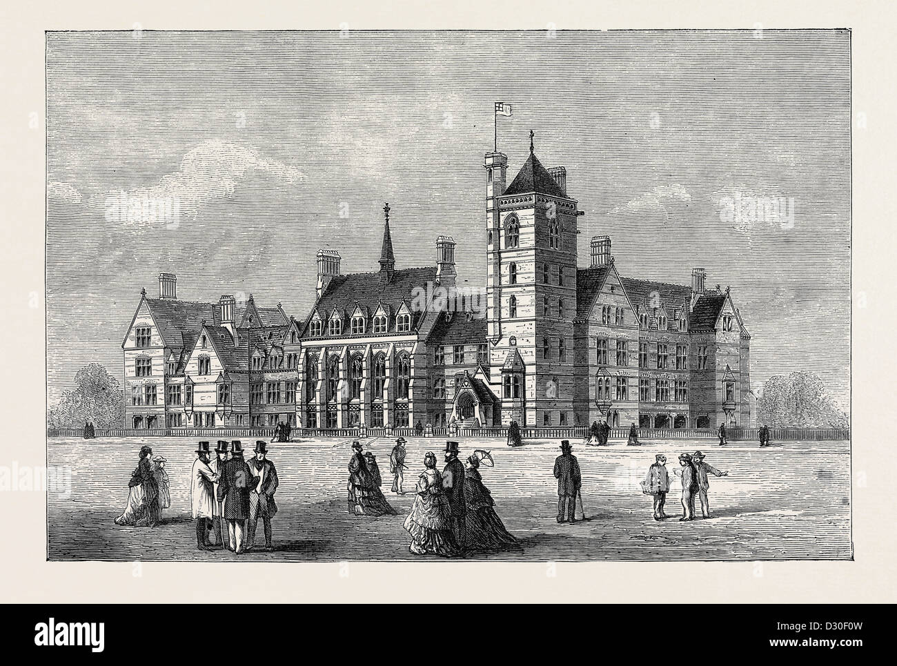 SEAMENS' ORPHAN INSTITUTION AT LIVERPOOL - Stock Image