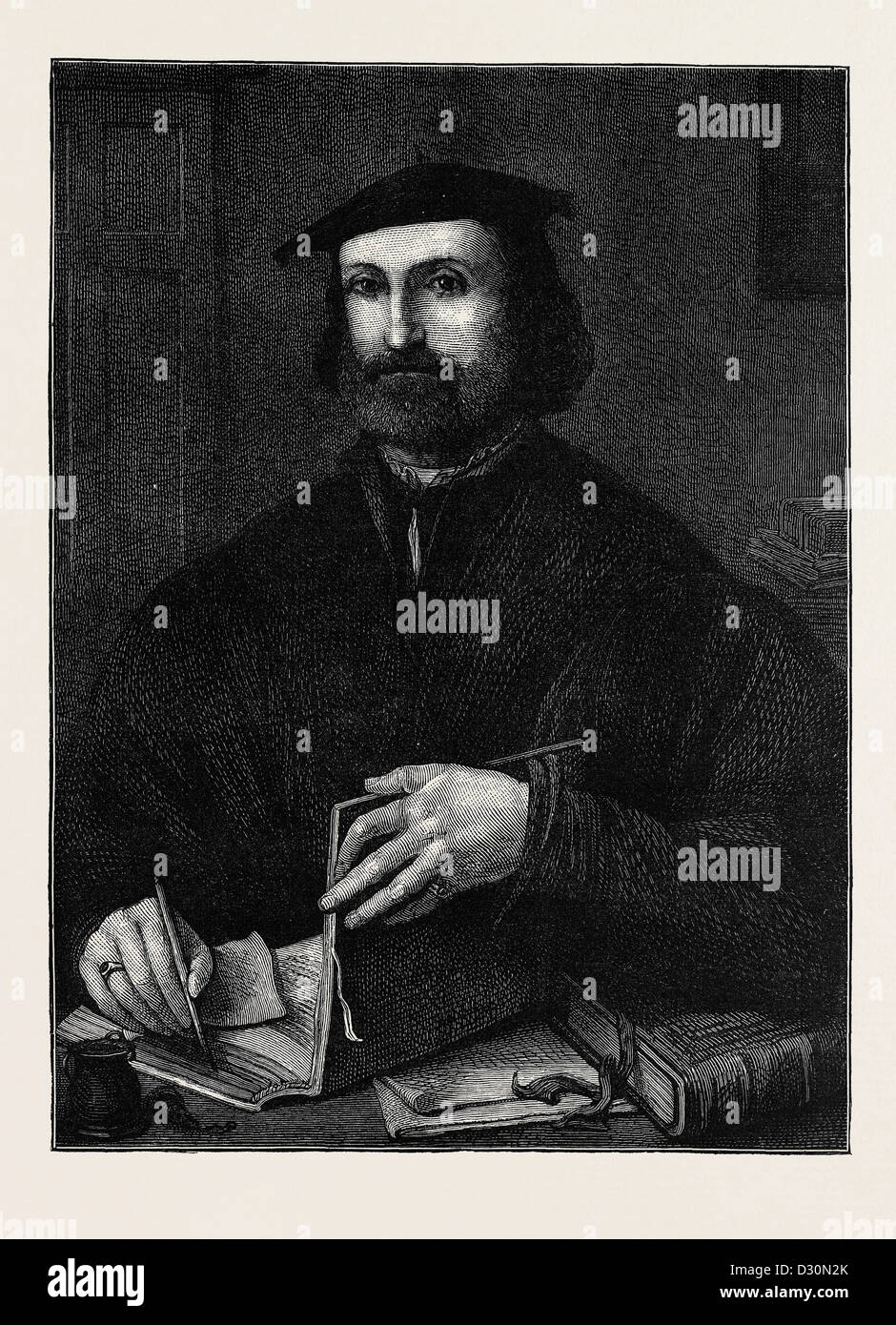 LUDOVICO ARIOSTO, BORN SEPTEMBER 8, 1474; DIED JUNE 6, 1533 Stock Photo